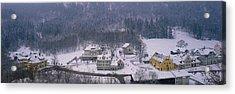 Village Of Hohen-schwangau, Bavaria Acrylic Print by Panoramic Images