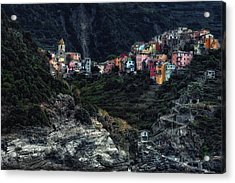 Village  -on The Rocks- Acrylic Print