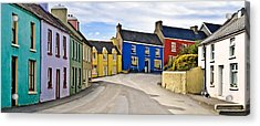 Acrylic Print featuring the photograph Village Street by Jane McIlroy