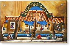 Villaggio Cain Art Print Acrylic Print by William Cain