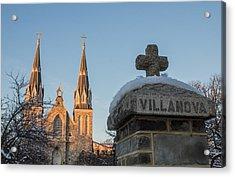 Villanova Wall And Chapel Acrylic Print