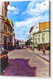 Vilnius Old Town 11 Acrylic Print