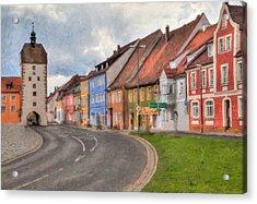 Vilseck Marktplatz Acrylic Print