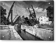 Acrylic Print featuring the photograph Vincent Van Gogh Bridge by Richard Wiggins