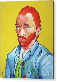Vincent Van Gogh Acrylic Print by Venus
