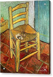 Vincent's Chair 1888 Acrylic Print by Vincent van Gogh