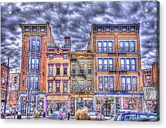 Acrylic Print featuring the photograph Vine Street by Daniel Sheldon