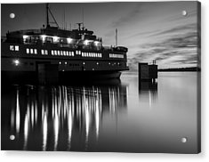 Vineyard Ferry Acrylic Print
