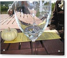Vineyards In Va - 121245 Acrylic Print by DC Photographer