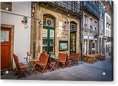 Acrylic Print featuring the photograph Vinoteca by Gary Gillette