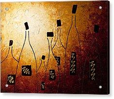 Vins De France Acrylic Print by Carmen Guedez