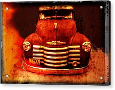 Vintage 1950 Chevy Truck Acrylic Print