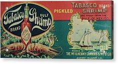Vintage Advertisement Acrylic Print