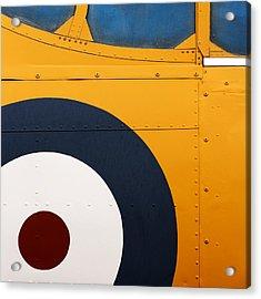 Vintage Airplane Abstract Design Acrylic Print