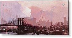 Vintage America Brooklyn 1930 Acrylic Print by Steve K