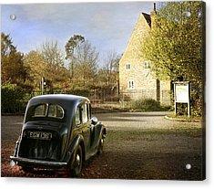 Vintage Austin 14  Acrylic Print by Stephen Norris