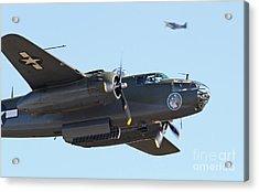 Vintage B-25 Mitchell Bomber Acrylic Print