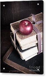 Vintage Back To School Acrylic Print by Edward Fielding