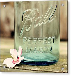 Vintage Ball Perfect Mason Acrylic Print