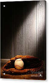 Vintage Baseball Acrylic Print