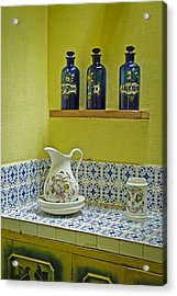 Vintage Bathroom Acrylic Print
