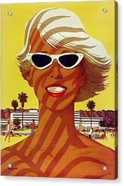 Vintage Beach  Acrylic Print