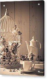 Vintage Birdcage Acrylic Print