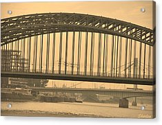 Vintage Bridge Acrylic Print