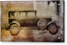 Vintage Buick Acrylic Print by David Ridley