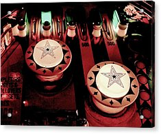Vintage Bumpers Acrylic Print by Benjamin Yeager