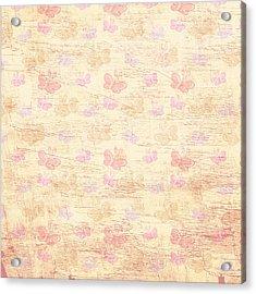 Vintage Butterflies Acrylic Print