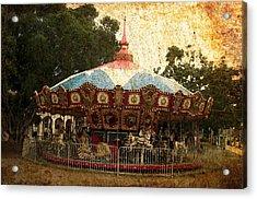 Vintage Carousel Acrylic Print
