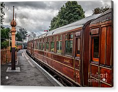 Vintage Carriages Acrylic Print by Adrian Evans