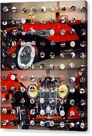 Vintage Cars1 Acrylic Print by Irmari Nacht