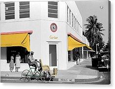 Vintage Cartier Store Acrylic Print