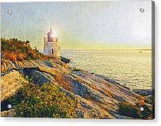 Vintage Castle Hill Light Acrylic Print