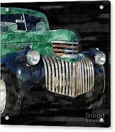 Vintage Chevrolet Pickup 1 Acrylic Print by Betty LaRue