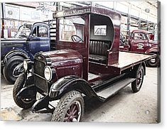 Vintage Chevrolet Pickup Truck Acrylic Print by Douglas Barnard