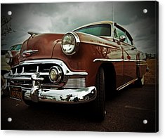 Acrylic Print featuring the photograph Vintage Chrysler by Gianfranco Weiss