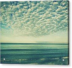 Vintage Clouds Acrylic Print