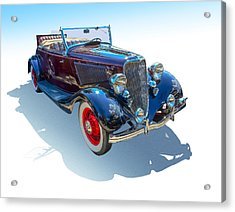 Vintage Convertible Acrylic Print by Gianfranco Weiss