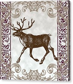 Vintage Deer Artowrk Acrylic Print