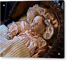 Vintage Doll Acrylic Print