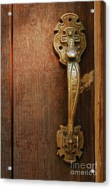 Vintage Door Handle Acrylic Print