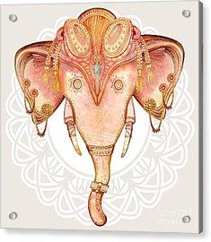Vintage Elephant Illustration.hand Draw Acrylic Print