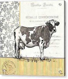 Vintage Farm 1 Acrylic Print by Debbie DeWitt