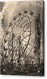 Vintage Ferris Wheel Acrylic Print