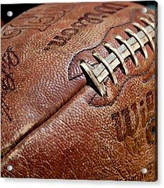 Vintage Football Acrylic Print
