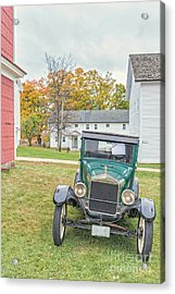 Vintage Ford Model A Car Acrylic Print by Edward Fielding
