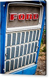 Vintage Ford Tractoy Acrylic Print